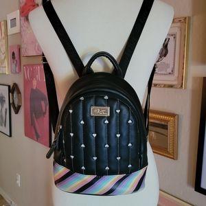Luv Betsey - Black & Rainbow Backpack